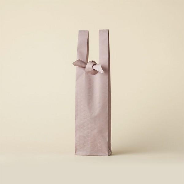 ピンク 梅小紋 ワインバッグ おしゃれ