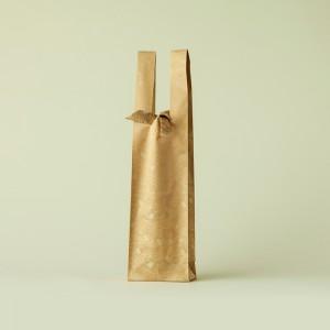 黄土 敷松葉 ワインバッグ おしゃれ